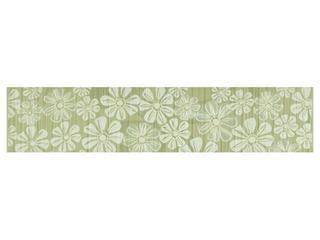 Płytka ścienna Euforia verde listwa kwiatek 2 40x8,5 Cersanit