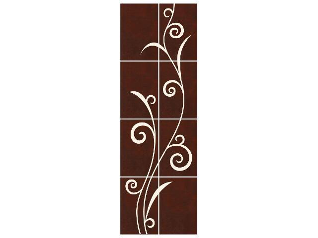Płytka ścienna Tesalia brown/beige kompozycja 66x200