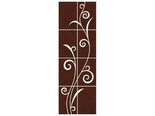Płytka ścienna Tesalia brown/beige kompozycja 66x200 Cersanit