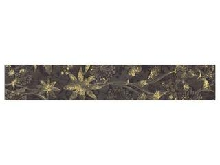 Płytka ścienna Trawertino listwa kwiatek 50x8,6