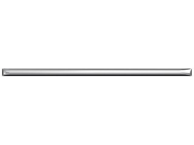 Płytka ścienna profil srebrny 25x1