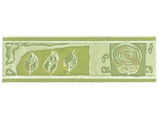 Płytka ścienna Apolla znaki verde1 listwa 6x20 Cersanit