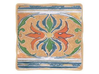 Płytka ścienna Viking orange motyw cottage 3 10x10 Cersanit