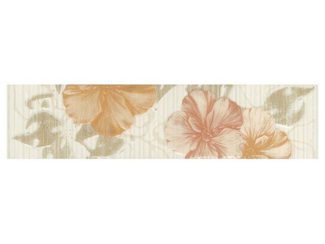 Płytka ścienna kwiatek 6x25 Poema orange