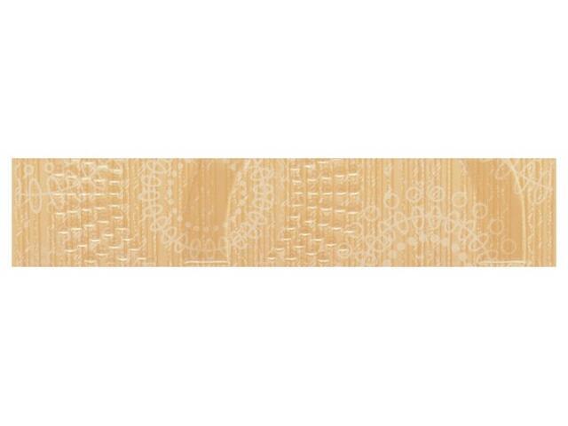Płytka ścienna Poema orange listwa kółka 5x25