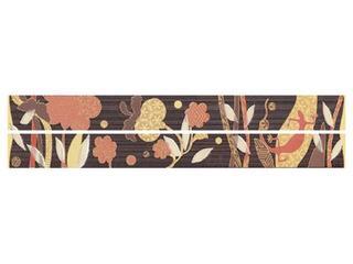 Płytka ścienna Symfonia brown listwa modern 4,8x45 Cersanit