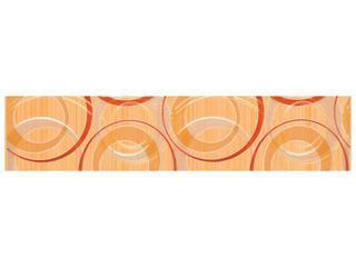 Płytka ścienna koła 6,5x30 Atola orange Cersanit