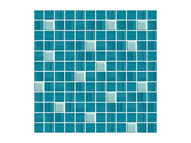 Mozaika Sensual Blue Murano 30x30 Paradyż