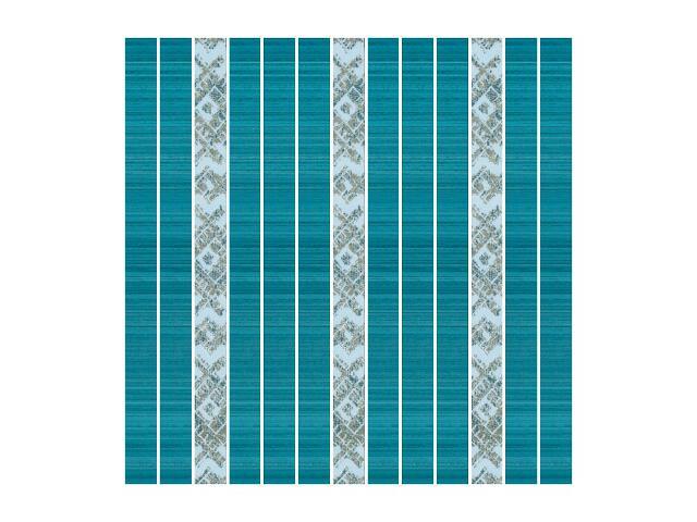 Mozaika Sensual Blue paski 32,5x32,5 Paradyż