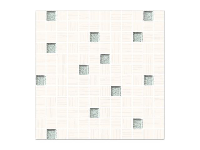 Mozaika Cydonia Bianco/Silver 29,8x29,8 Paradyż