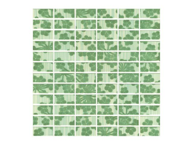 Mozaika Melua Verde prasowana 30x30 Paradyż