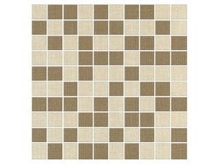 Mozaika Iberia beige-siena 29x29 Cersanit