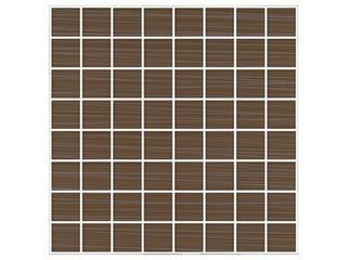 Mozaika Euforia brown 25x25 Cersanit