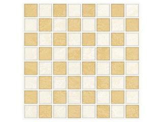 Mozaika Wenga beige/giallo 25x25