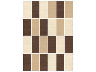 Mozaika Tenera mix beige/siena/brown prostokąt 25x35 Cersanit