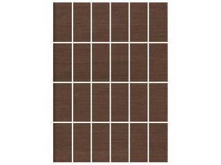 Mozaika Tenera brown prostokąt 25x35 Cersanit