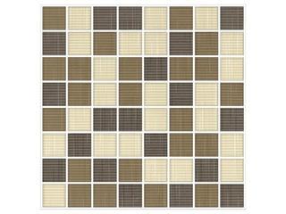 Mozaika Trenza beige/siena/brown 25x25 Cersanit