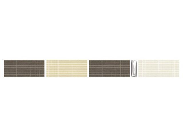 Mozaika Trenza brown listwa 25x2,5