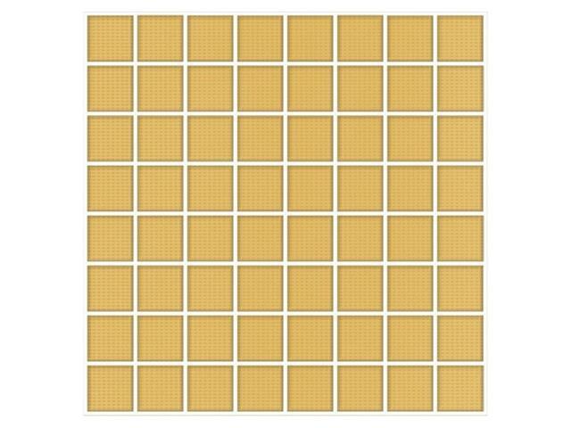 Mozaika Frida giallo 25x25