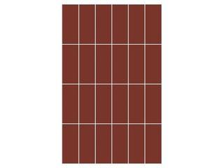 Mozaika Aroma brown prostokąt 25x40