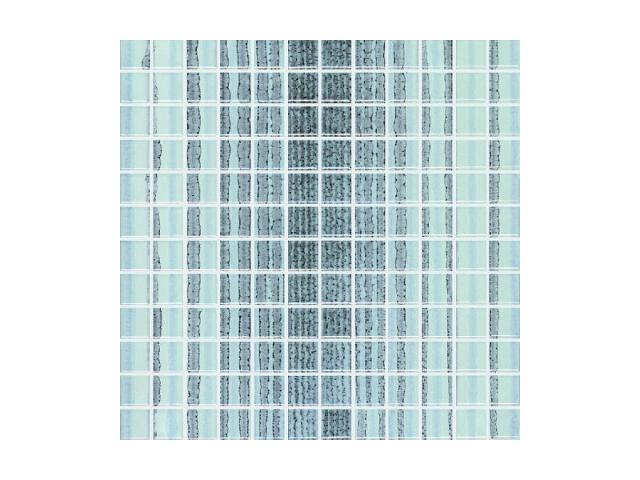 Mozaika Candy Azul paski 30x30 Paradyż