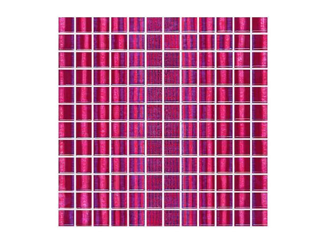 Mozaika Candy Rosa paski 30x30 Paradyż