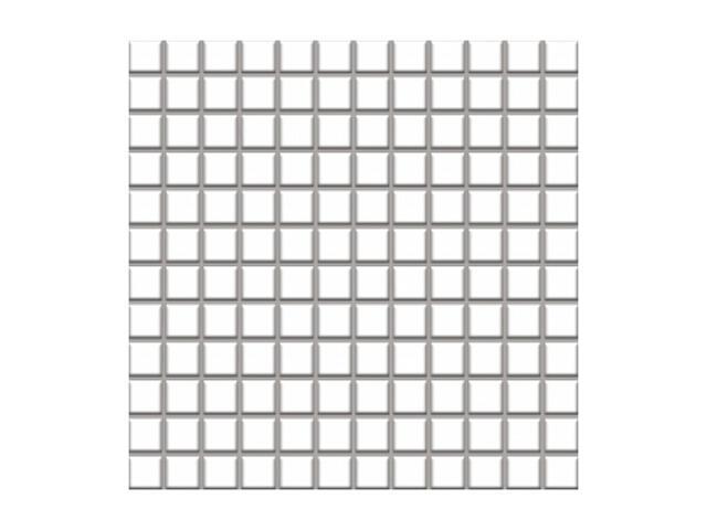 Mozaika Altea Bianco 30x30 kostka 2,3x2,3 Paradyż