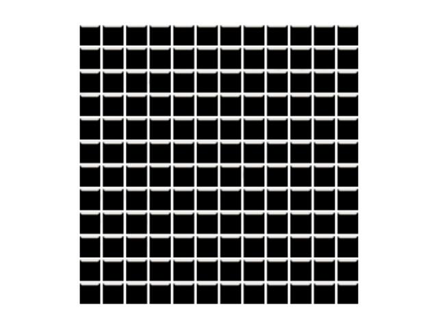 Mozaika Altea Nero 30x30 kostka 2,3x2,3 Paradyż