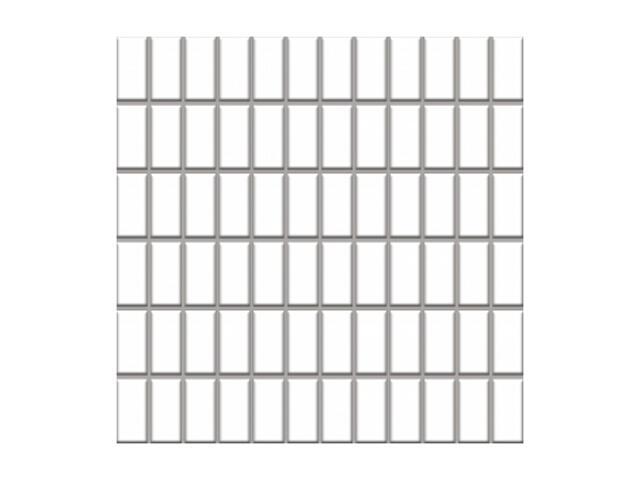 Mozaika Altea Bianco 30x30 kostka 2,3x4,8 Paradyż