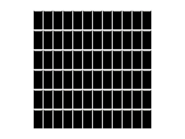 Mozaika Altea Nero 30x30 kostka 2,3x4,8 Paradyż