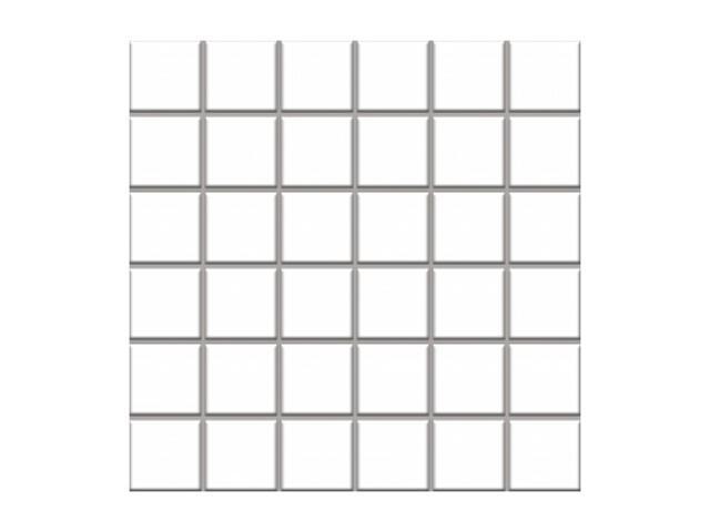 Mozaika Altea Bianco 30x30 kostka 4,8x4,8 Paradyż