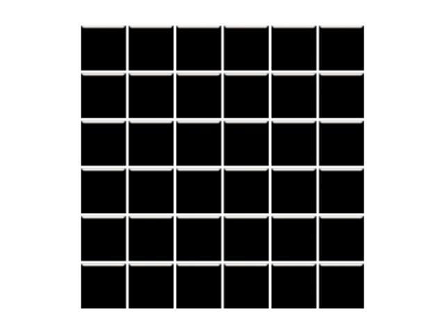 Mozaika Altea Nero 30x30 kostka 4,8x4,8 Paradyż