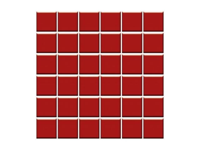 Mozaika Altea Rosa 30x30 kostka 4,8x4,8 Paradyż