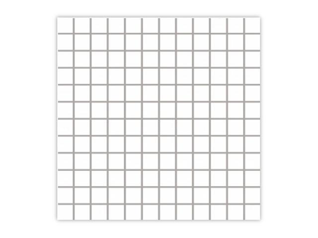 Mozaika Albir Bianco 30x30 kostka 2,3x2,3 Paradyż