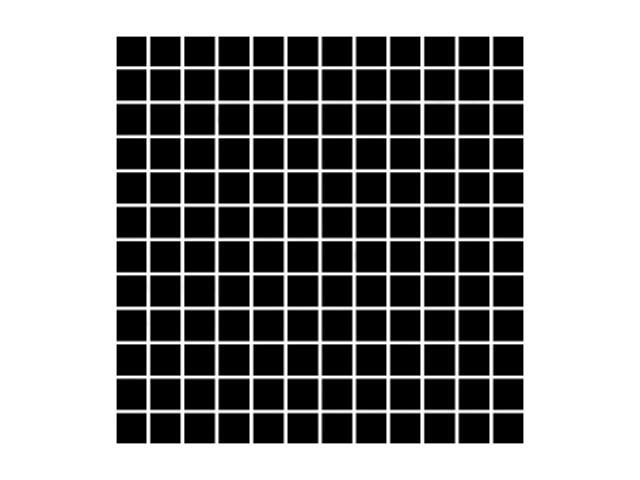 Mozaika Albir Nero 30x30 kostka 2,3x2,3 Paradyż
