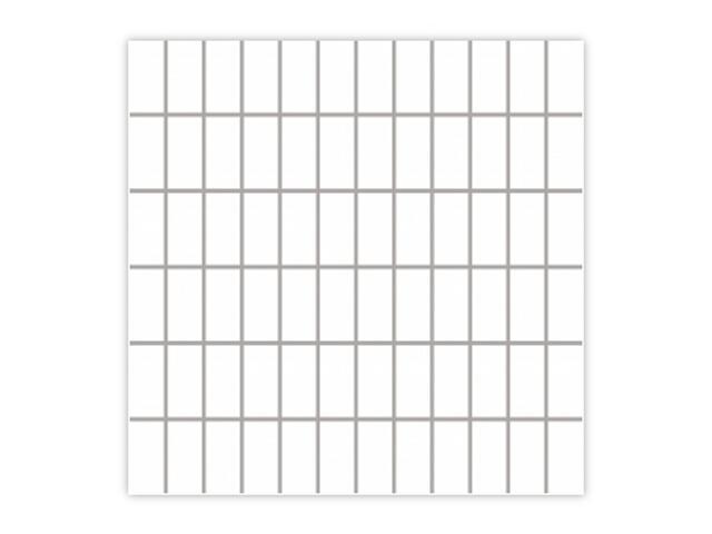 Mozaika Albir Bianco 30x30 kostka 2,3x4,8 Paradyż