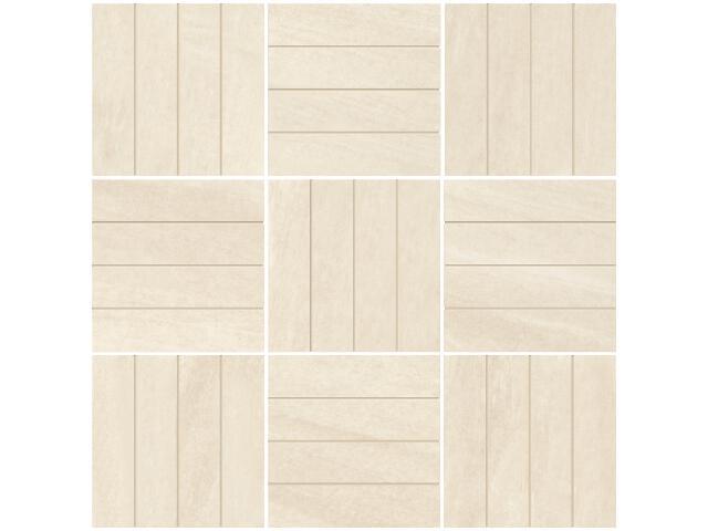 Mozaika Masto Bianco inserto B 29,8x29,8 półpoler Paradyż