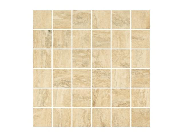 Mozaika Travertino Silver B 29,8x29,8 lappato My Way