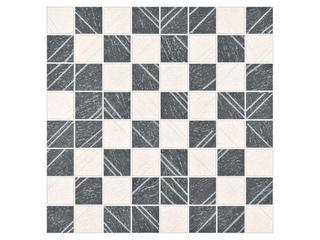Mozaika Tripolis kremowo-szara 39,6x39,6 Opoczno