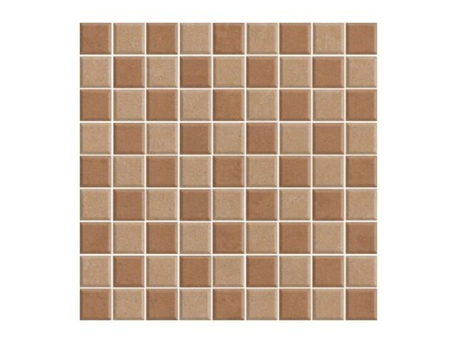 Mozaika Calabria beige /brown poler 29,55x29,55