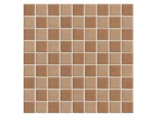 Mozaika Calabria brown/beige 29,55x29,55 Cersanit