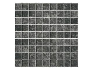 Mozaika Calabria nero 29,55x29,55 Cersanit