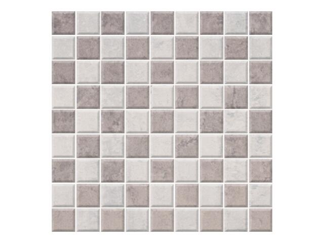 Mozaika Calabria grys/ wega grigio 29,55x29,55