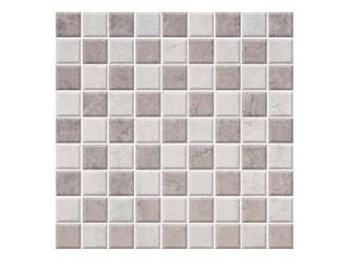 Mozaika Calabria grys/ wega grigio 29,55x29,55 Cersanit