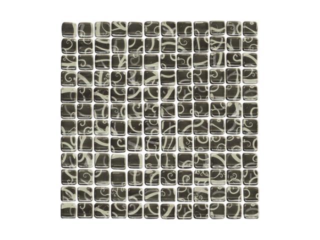 Mozaika Hanabi Nero 30x30 Paradyż