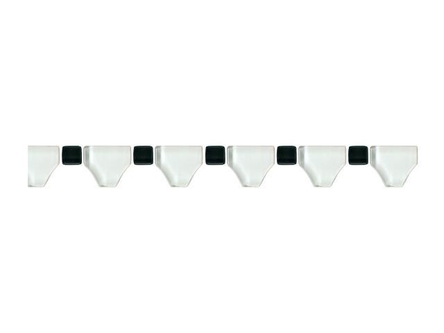 Mozaika Secret Bianco element wykończeniowy B 3,3x31,4 Paradyż