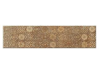 Listwa gresowa Aspen brąz geo 39,6x9,6 Opoczno