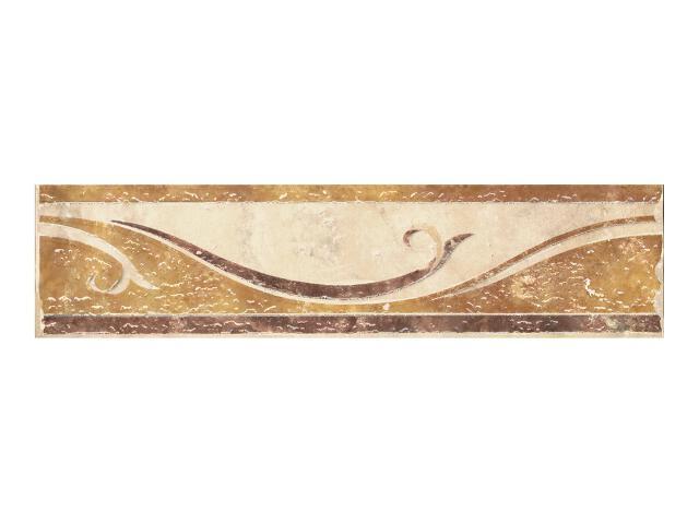Gres Antiquer Beige listwa 9,8x40 Paradyż