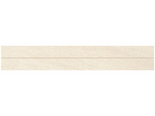 Gres Masto Bianco listwa 4,8x29,8 półpoler Paradyż
