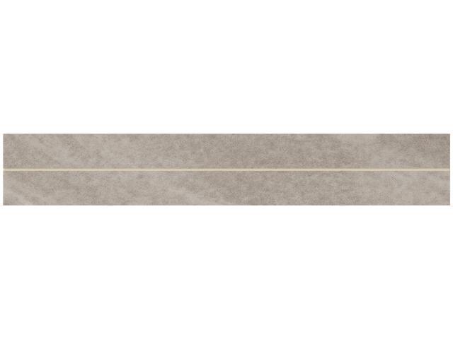 Gres Masto Grys listwa 4,8x29,8 półpoler Paradyż
